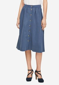 s.Oliver - A-line skirt - faded blue - 5