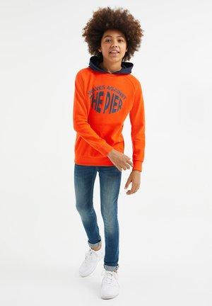 Hættetrøjer - red orange