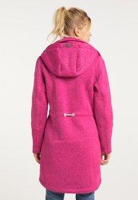 Schmuddelwedda - Krátký kabát - pink melange - 2