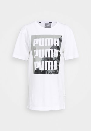 SUMMER GRAPHIC TEE - T-shirt con stampa - white