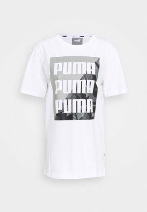 SUMMER GRAPHIC TEE - Print T-shirt - white