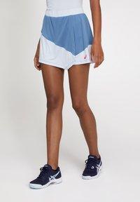 ASICS - A-snit nederdel/ A-formede nederdele - grey floss/soft sky - 0