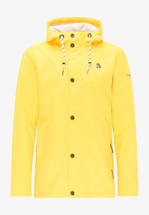 MIT MAGICPRINT - Waterproof jacket - yellow