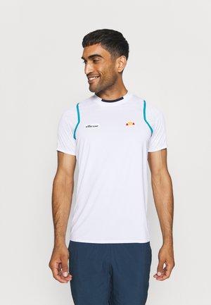 OCEANO TEE - Print T-shirt - white