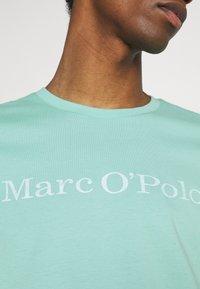 Marc O'Polo - SHORT SLEEVE - T-shirt imprimé - mint - 5