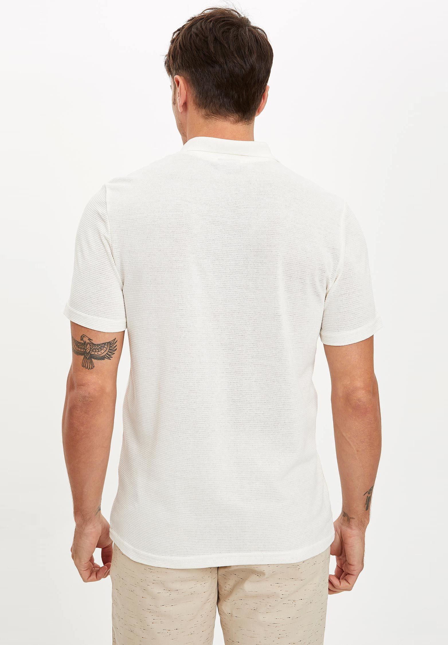 DeFacto Polo shirt - beige ha7yv