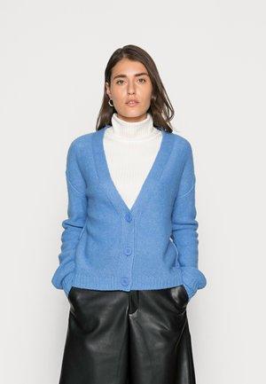 LLT BUTTON CARD - Cardigan - bright blue