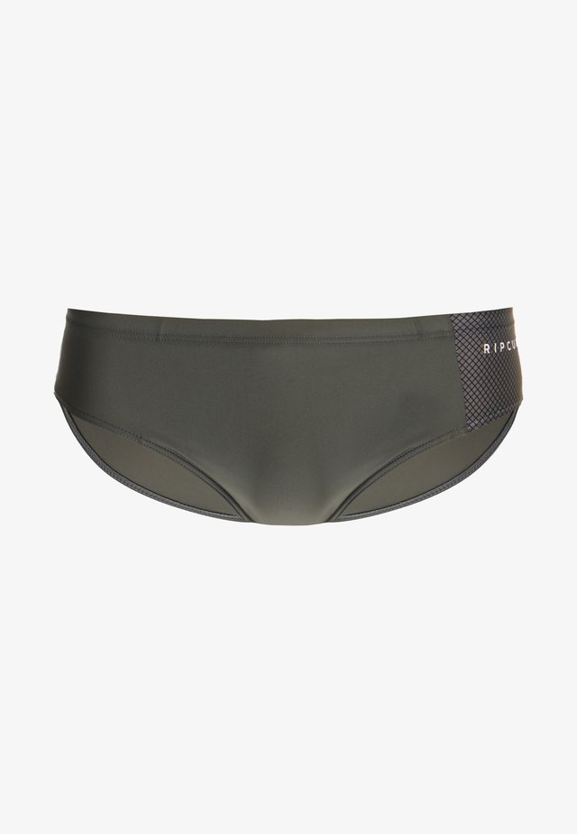 SLIPPO SWIMWEAR - Plavky slipy - charcoal grey