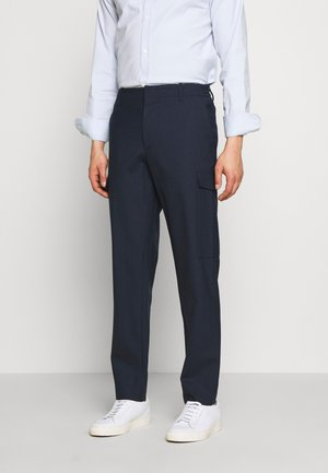 SASHA CARGO ACTIVE - Trousers - mid blue