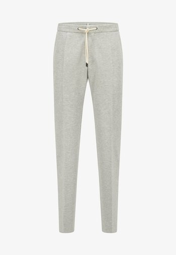BANKS - Tracksuit bottoms - silver