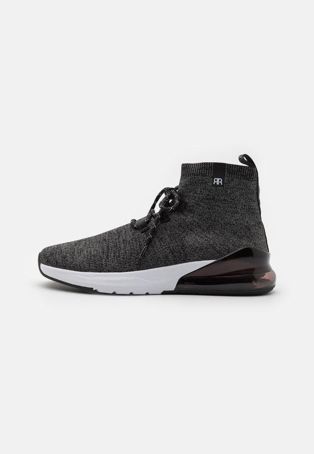 Sneakers hoog - grey marl
