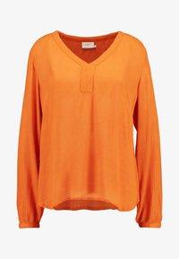 AMBER BLOUSE - Tunic - burnt orange