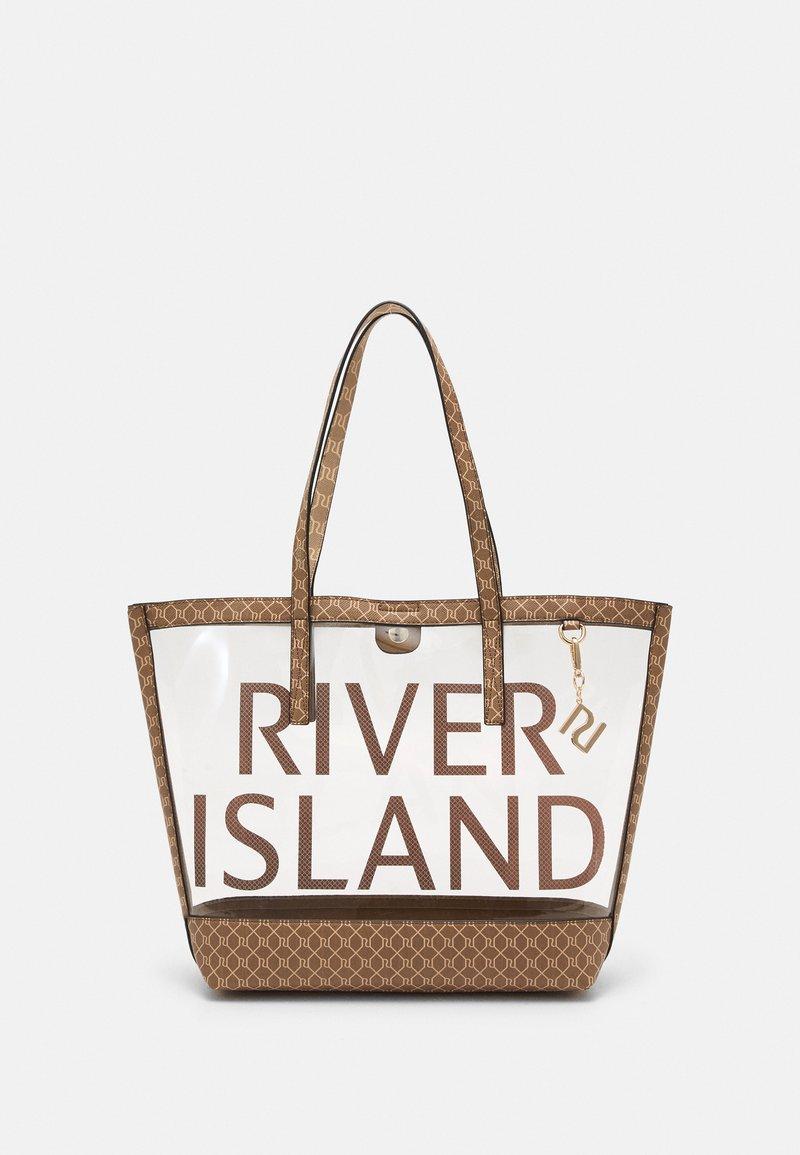 River Island - Tote bag - brown