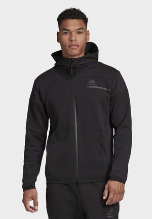 ADIDAS Z.N.E. FULL-ZIP HOODIE - Sweat à capuche - black