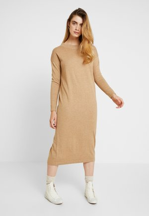 KAREN DRESS - Maxikjole - iced coffee melange