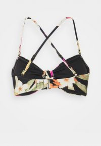 Rip Curl - NORTH SHORE KNOT BANDEAU - Bikini top - black - 3