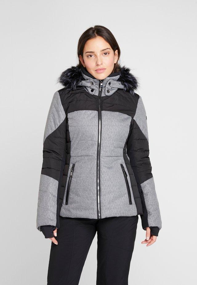 IVASKA  - Snowboard jacket - black/grey