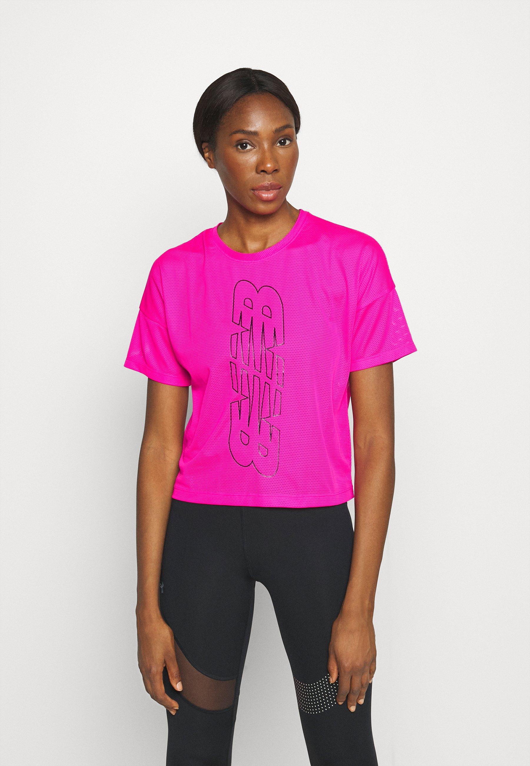 Women ACHIEVER KEYHOLE BACK GRAPHIC TEE - Print T-shirt