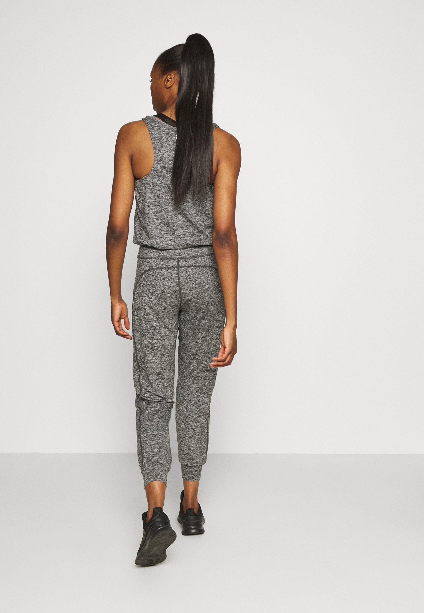 Collezioni Abbigliamento da donna Sweaty Betty GARUDASANA Tuta black marl