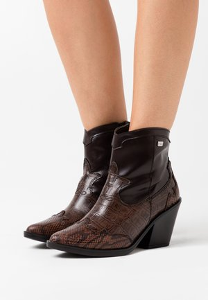 BRAMI - Boots à talons - dark brown