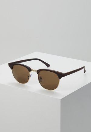Sonnenbrille - brown/black