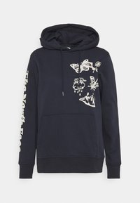 The North Face - HIMALAYAN BOTTLE SOURCE HOODIE - Sweater - aviator navy - 0