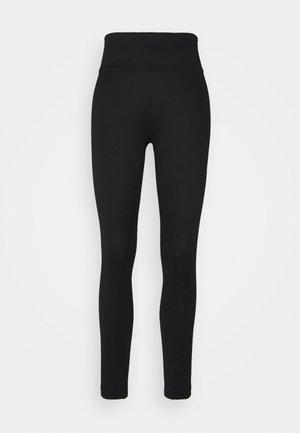 YARA LEGGINGS - Pyjama bottoms - black