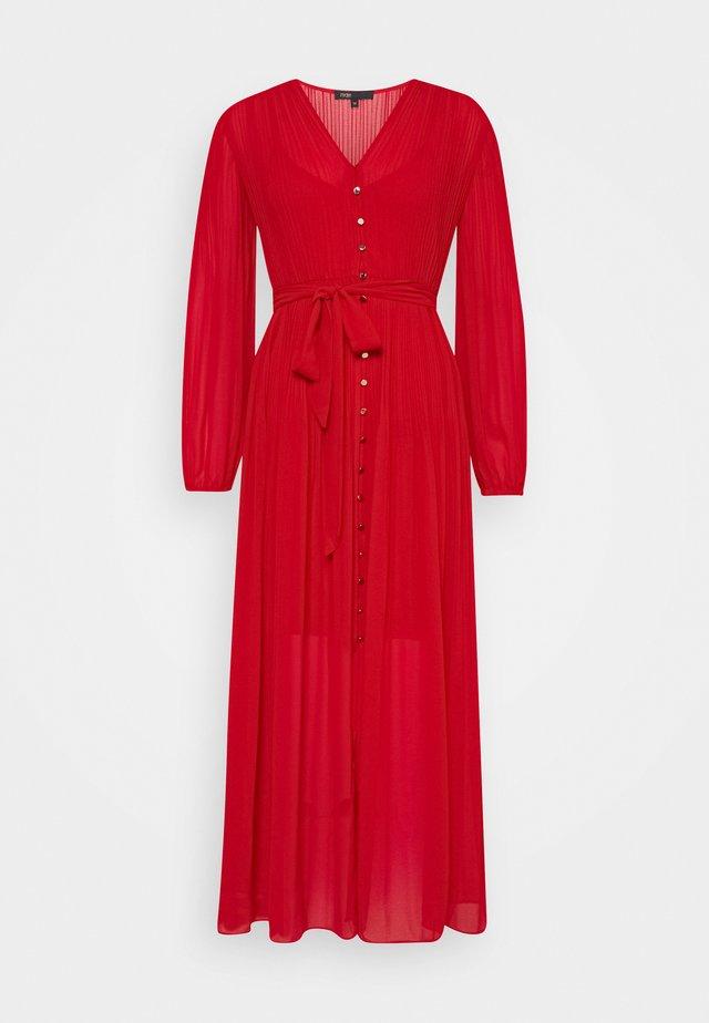 ROCHI - Robe chemise - rouge