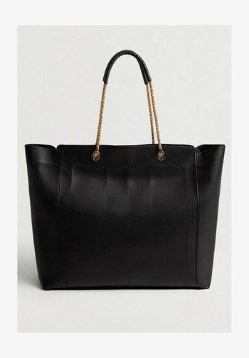 PURA - Tote bag - schwarz