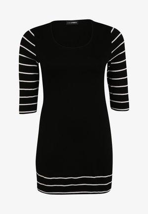 Tunic - schwarz/weiß