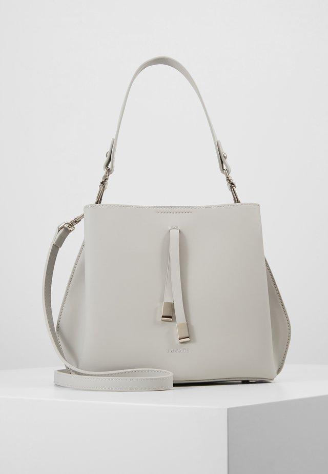 CLÉO - Handbag - linnen grey