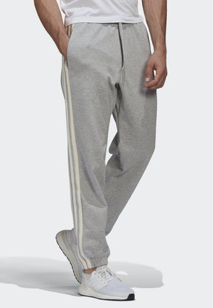 WINTER 3-STRIPES TRACKSUIT BOTTOMS - Träningsbyxor - grey