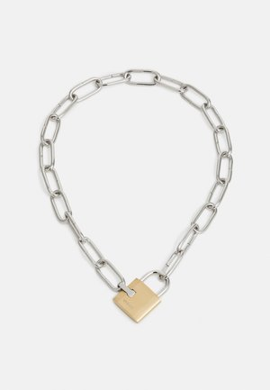 TRESPASS UNISEX - Necklace - silver-coloured
