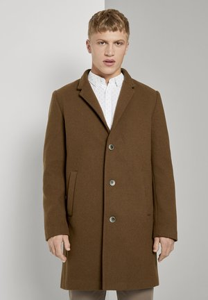 Classic coat - equestrian brown