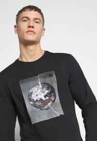 The North Face - MENS GRAPHIC TEE - Långärmad tröja - black/white - 3