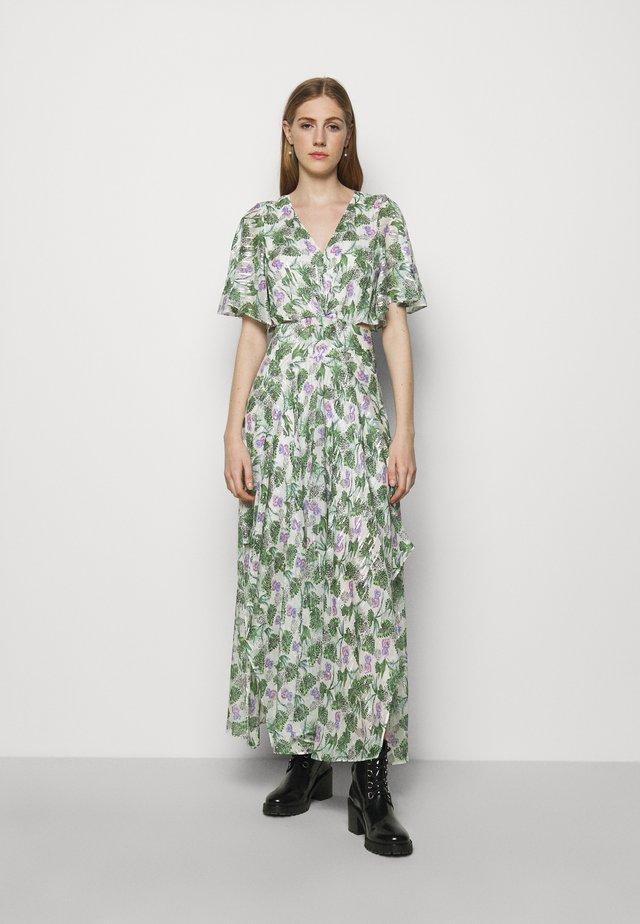 ROCHELLE - Maxi-jurk - végétal écru vert