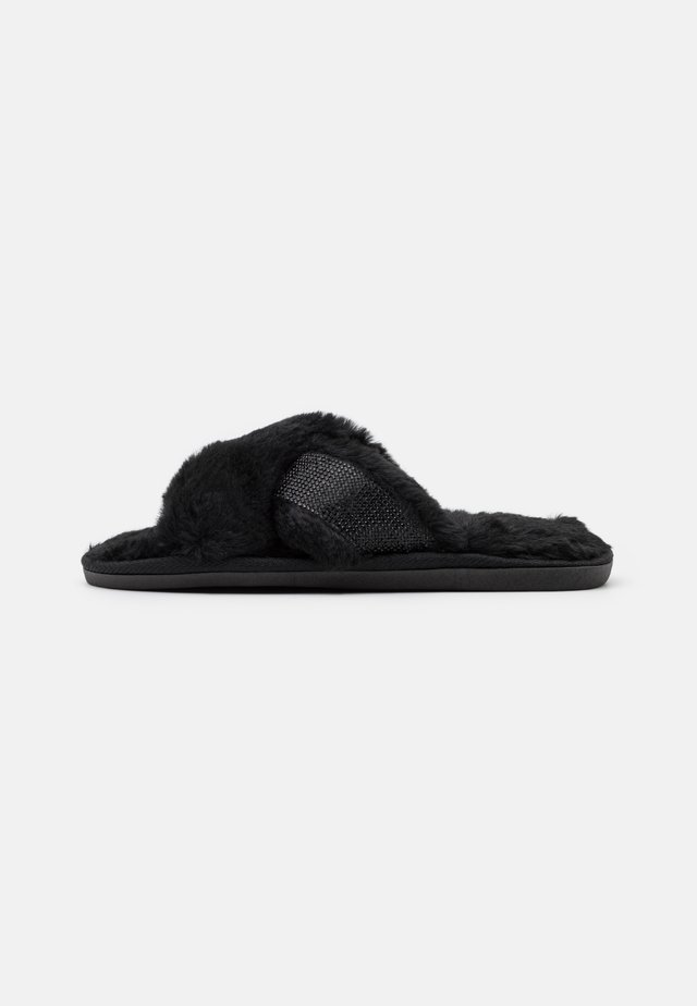 FANCIIE - Slippers - black