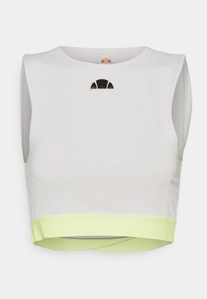 TUTTAN CROP - Top - light grey