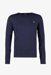 GANT - THE ORIGINAL - T-shirt à manches longues - evening blue - 3