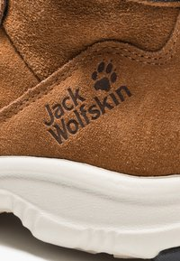 Jack Wolfskin - CITY BUG TEXAPORE MID - Hiking shoes - desert brown/champagne - 2