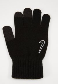 Nike Performance - TECH AND GRIP GLOVES  - Guanti - black/white - 0