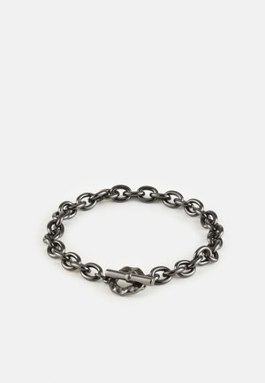 DECO NUANCE T BAR BRACELET - Bracelet - gunmetal
