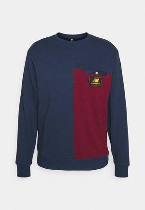 ATHLETICS HIGHER LEARNING CREW - Sweatshirt - blue