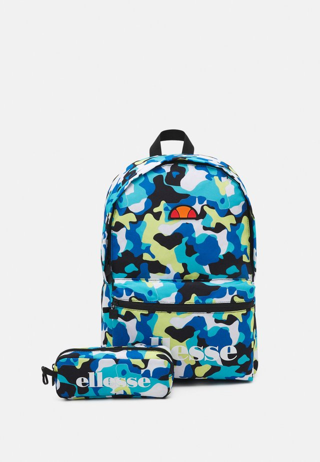 VALLI CAMO SET UNISEX - Sac à dos - blue