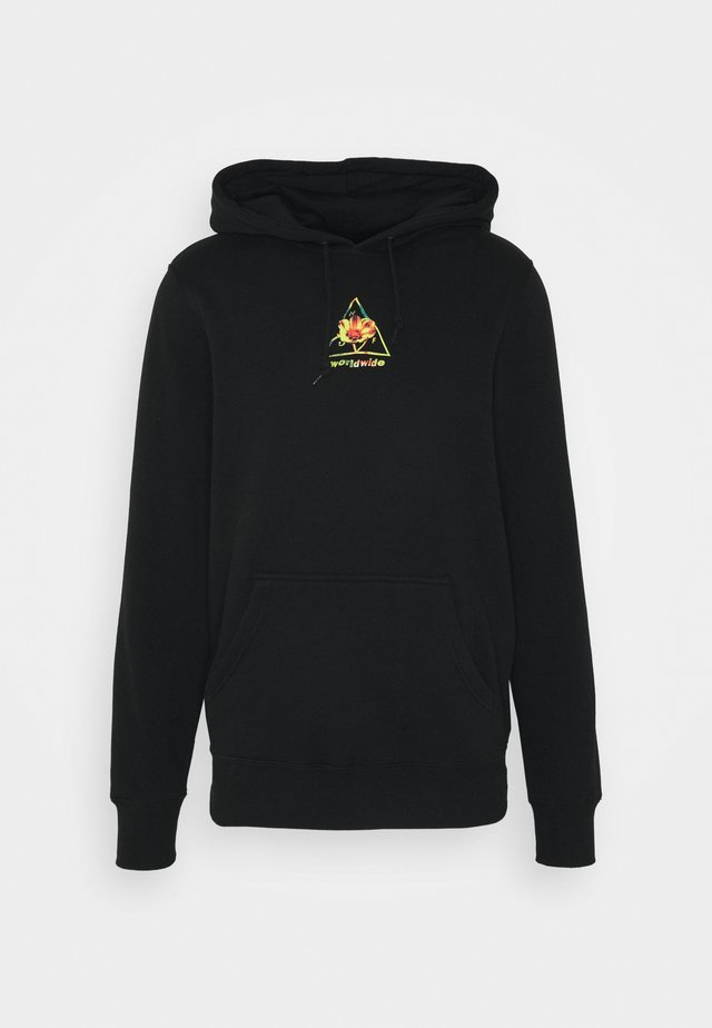 COME DOWN HOODIE - Sweat à capuche - black