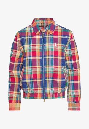 JACKET - Summer jacket - blue/red madra