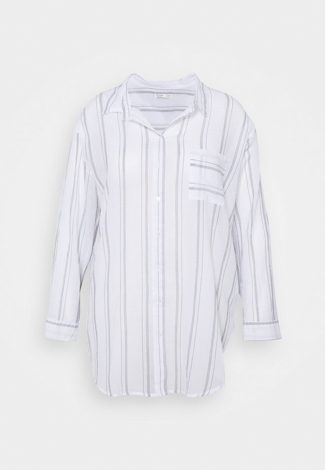 SAVANNAH OVERSIZE SHIRT - Chemisier - white