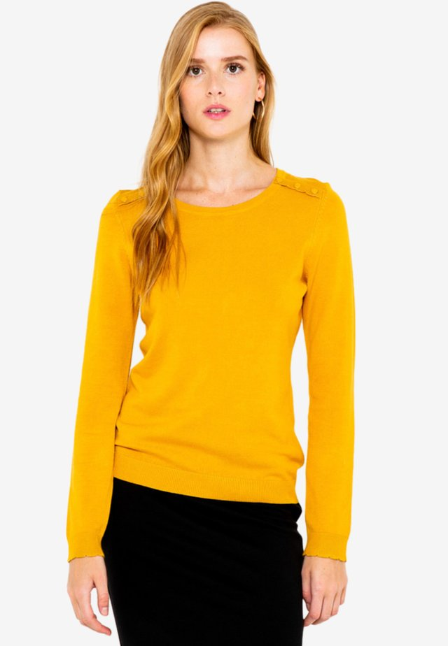 PULL FIN  - Pullover - yellow
