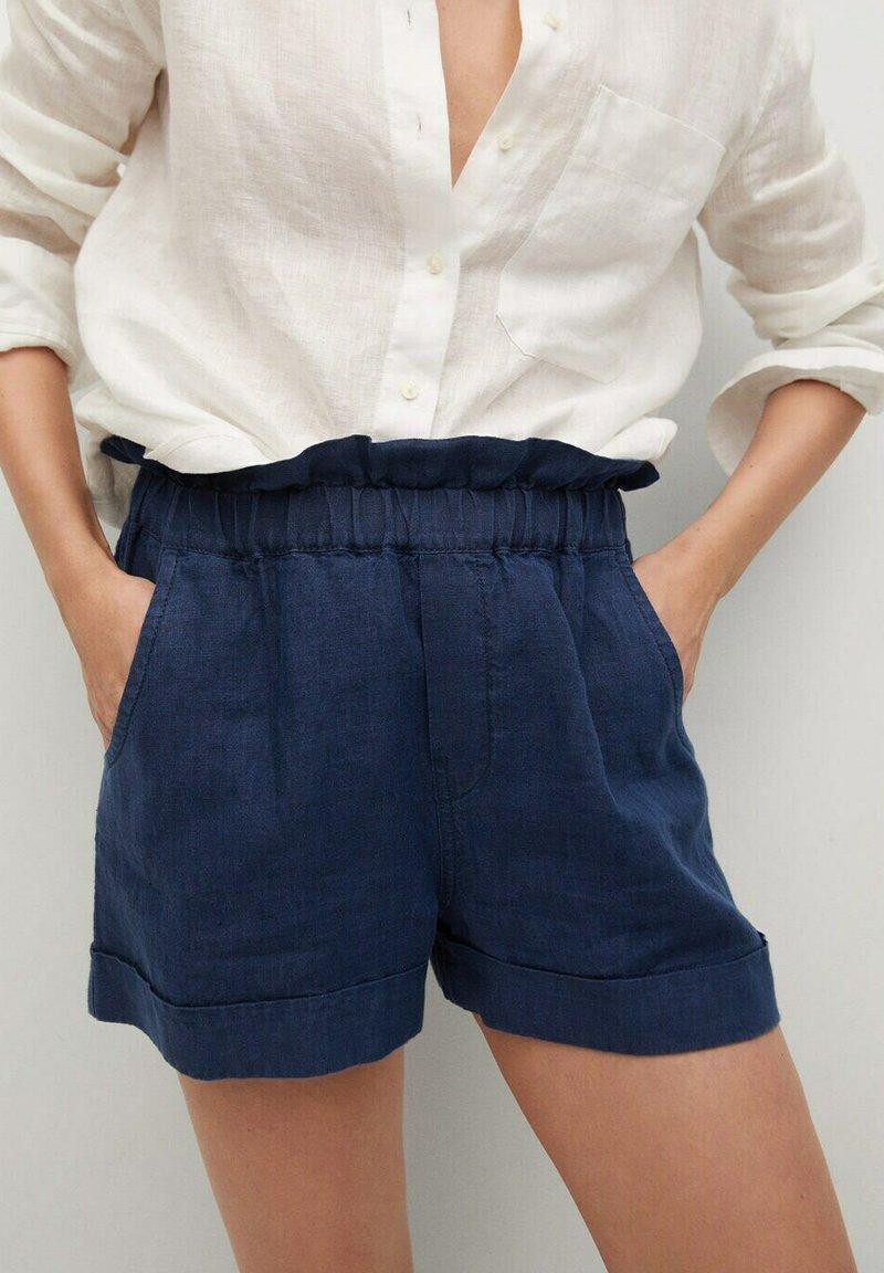 Mango - INDIGO - Shorts - indigoblauw