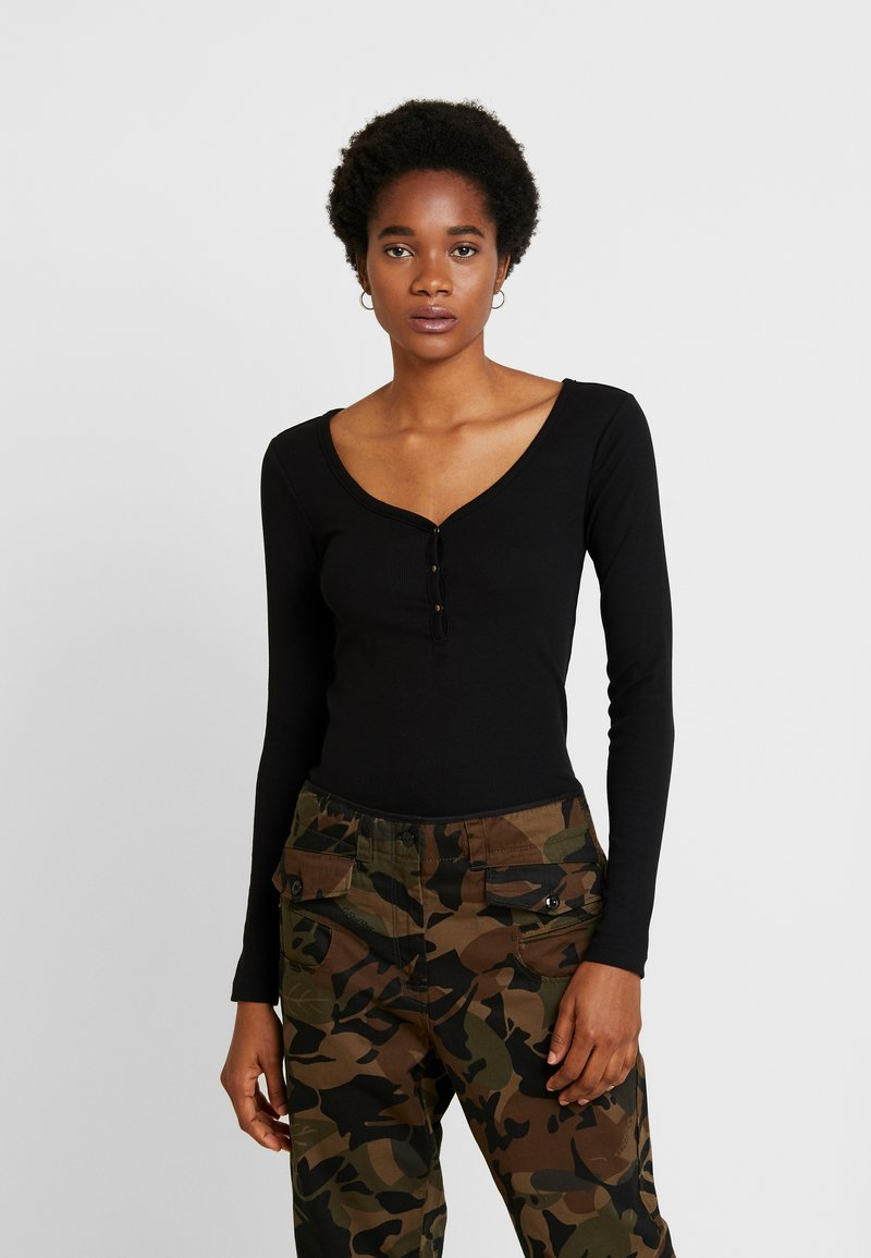 Even&Odd - Long sleeved top - black